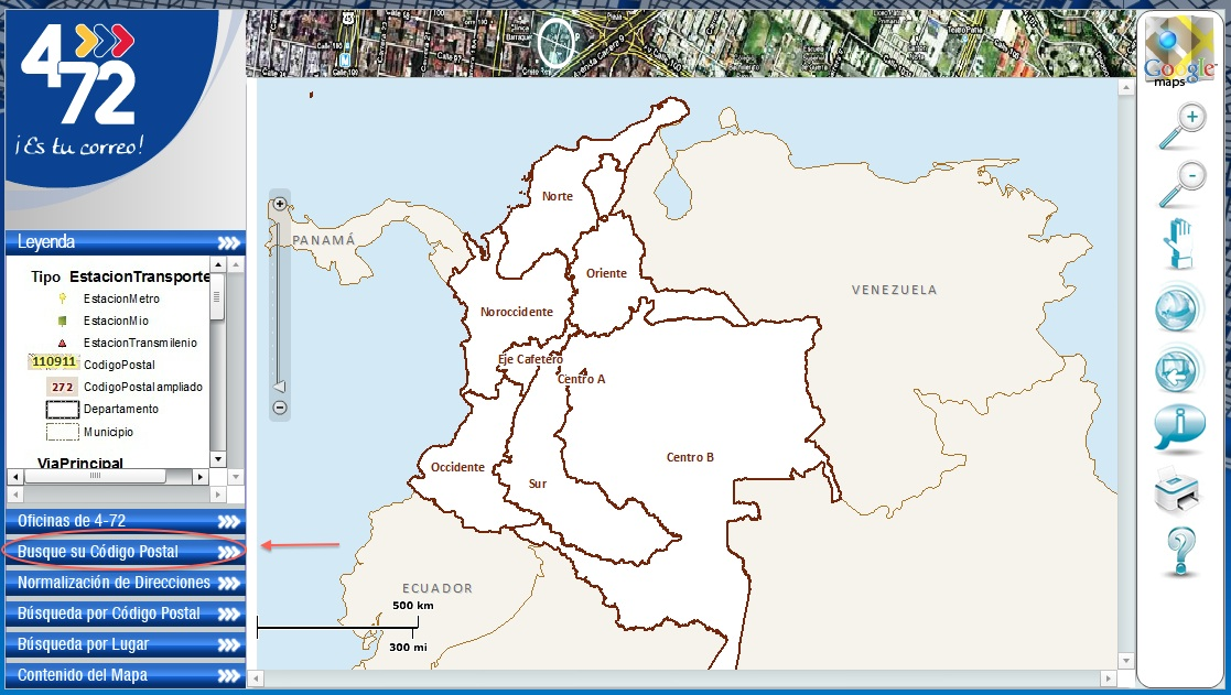 zip code for cali colombia