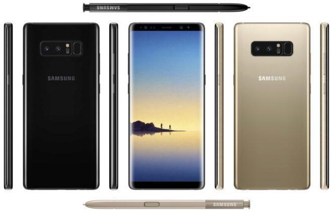 Filtrado el nuevo Samsung Galaxy Note 8, que se venderá por US$1.183