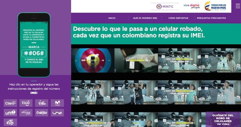 Agosto 31, día final para registrar IMEI en Colombia