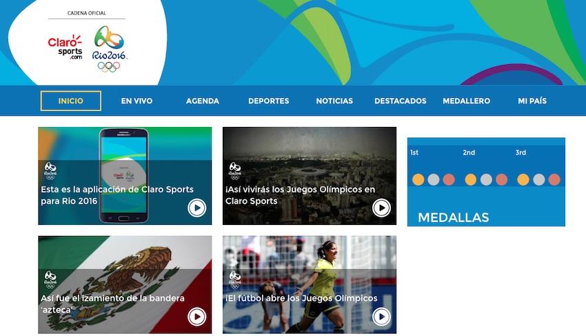 La magia tecnológica detrás de Río 2016