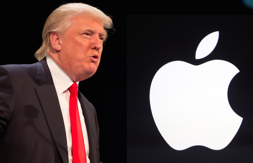 Apple, Facebook y Google toman acciones legales ante decreto de Trump