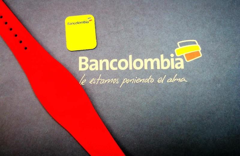 Bancolombia lanza las manillas de pago sin contacto en principales sucursales