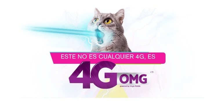 Nuevos Antiplanes Virgin Mobile 4G OMG LTE