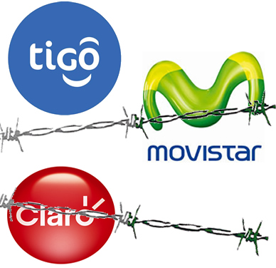 Para TigoUne y Movistar, el dominio en datos de Claro es mayor